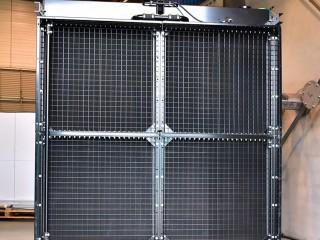 Cummins, V16 – 2250 KVA, radiateur XXL.