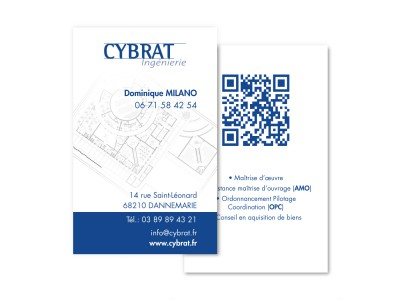 Carte de visite Cybrat Ingénierie