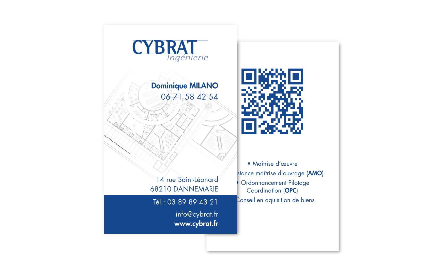 Carte De Visite Cybrat Ingenierie