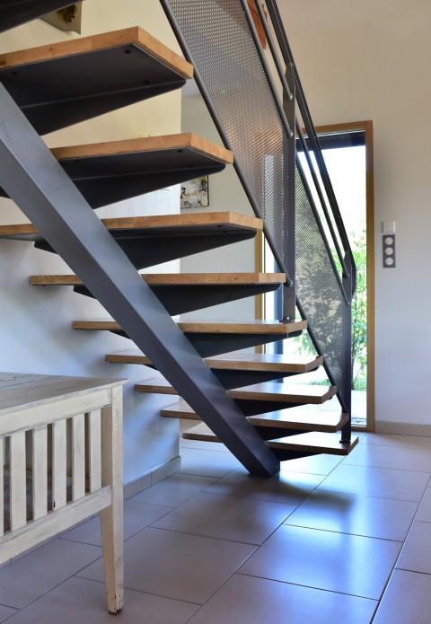 L'escalier aérien de la «Gratadie».