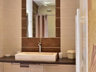 La «Gratadie», détail d'une salle de bain.