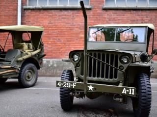 Jeep Willys côte à côte – Expo Dannemarie, Alsace