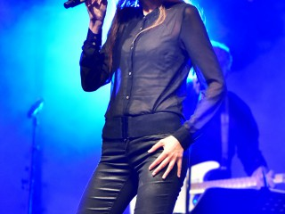 Myriam Tamaloult fidèle à son idole.