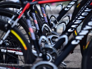 Les vélos du team Katusha.