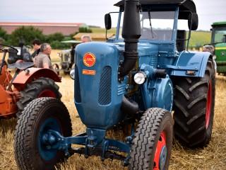 Tracteur Lanz Bulldog rutilant – Rassemblement  ARAMAA, Reiningue, Alsace