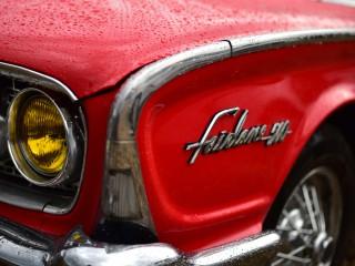 Ford Fairlane 500, plan rapproché