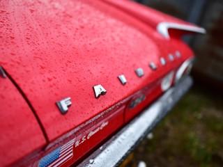 Ford Fairlane 500, lignes de fuite