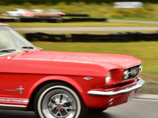 Ford Mustang en action