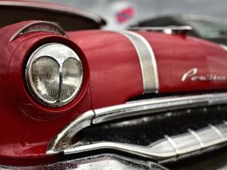 Pontiac, calandre béante