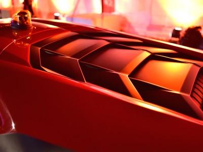 Lamborghini, carapace…