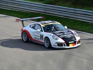 Porsche GT3 en piste