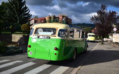 Autocars Saurer en vadrouille