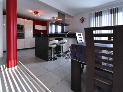 Maison contemporaine, open space