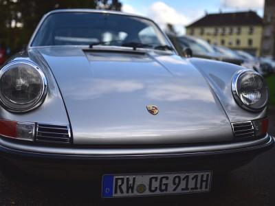 Porsche 911 S, face