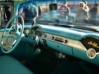 Chevrolet Bel-Air, tableau de bord