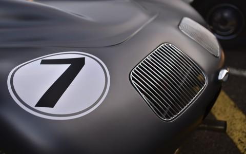 Porsche 550 Spyder, grilles moteurs