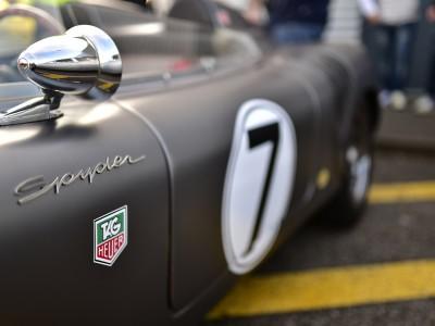 Porsche 550 Spyder, signature