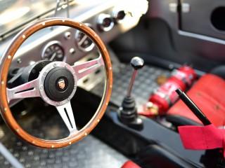 Porsche 550 spyder, cockpit