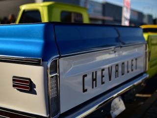 Pick-up Chevrolet C10 détail arrière