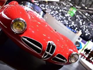 Alfa Roméo C52 Disco Volante Spyder – Carrozzeria Touring, calandre