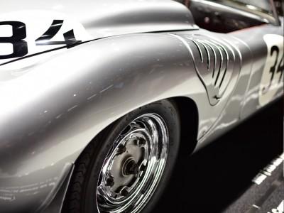Porsche 718 RS 60, détail roue arrière