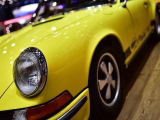 Porsche 911 Carrera RS 2.7, gros plan