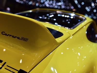 Porsche 911 Carrera RS 2.7, «queue de canard»