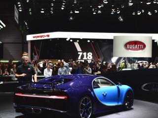Bugatti Chiron, première mondiale