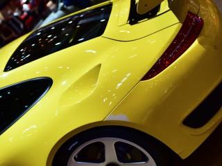 Porsche RUF RTR Narrow, côté moteur