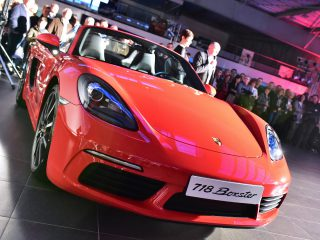 La Porsche 718 Boxster enfin dévoilée !
