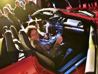 Champagne en Porsche 718 Boxster