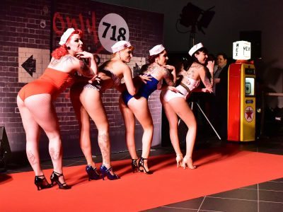Les Pin-up d'Alsace en plein show