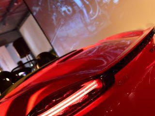 Signature lumineuse Porsche Boxster 718
