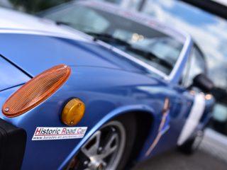 Porsche 914 de trois quart
