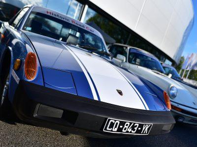 Porsche 914 en gros plan