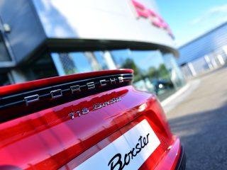 Porsche 718 Boxster détail arrière