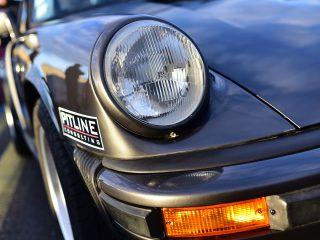 Porsche 911, gros plan
