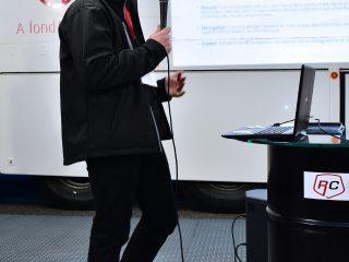 Le «patron» de RC EVENTS Daniel Klumpp