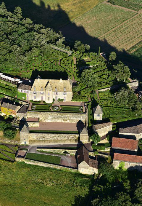 Château de Marqueyssac, vue aérienne