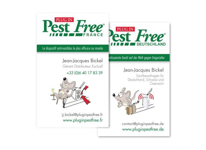 Carte de visite Pest Free
