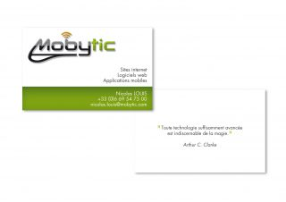 Carte de visite Mobytic