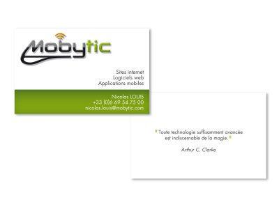 Carte de visite Mobytic