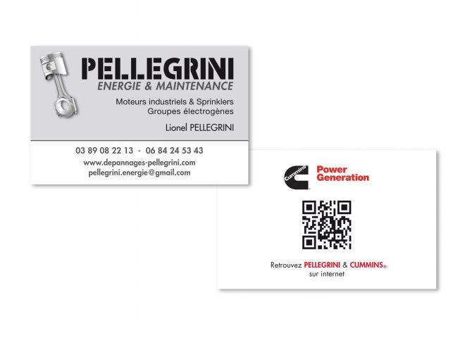 Carte de visite Pellegrini Energie