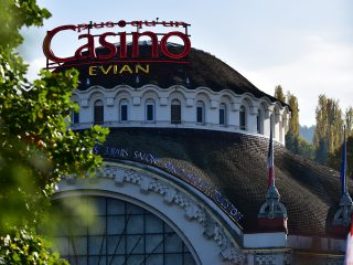 Casino de la ville d'Evian, Haute-Savoie