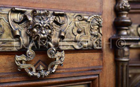 Heurtoir de porte, Hôtel de Ville Evian, Haute-Savoie