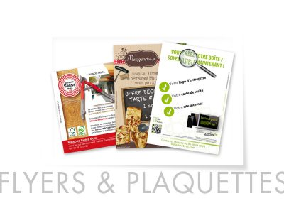 Flyers et plaquettes