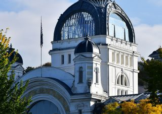 Palais Lumière, ville d'Evian, Haute-Savoie